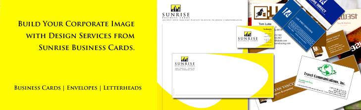 Sunrise Business Cards